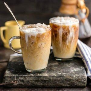 cafe helado cremoso