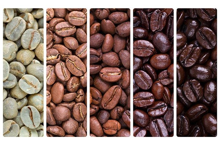 tipos de tostado de cafe